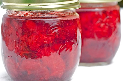 strawberries & cherry pie 26