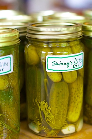 Dill pickles 60