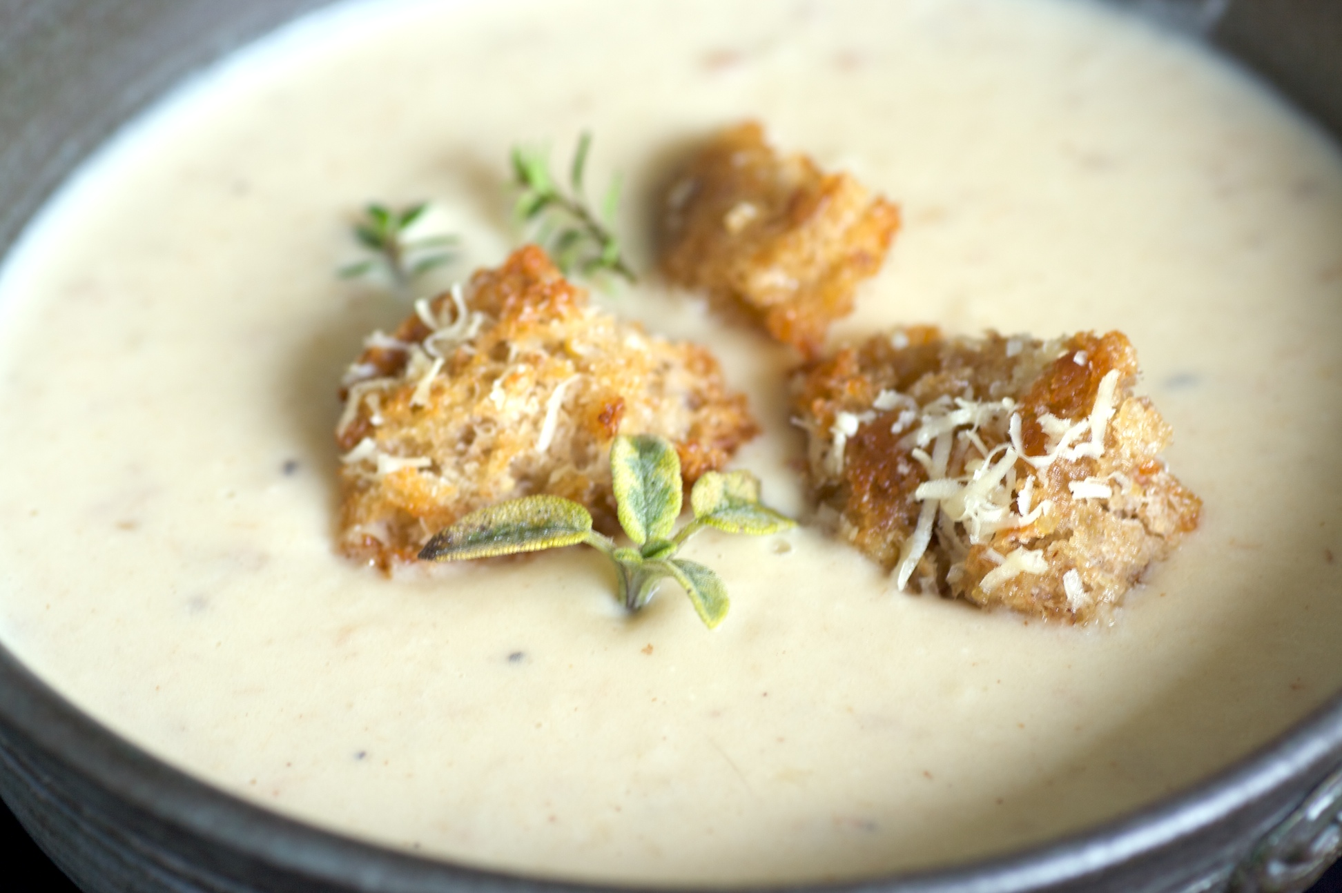 Cauliflower Soup Recipe — Dishmaps