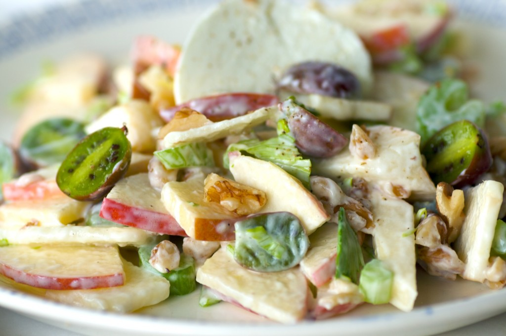 Hats off to Johnny: A PNW Waldorf Salad | Mixed Greens Blog