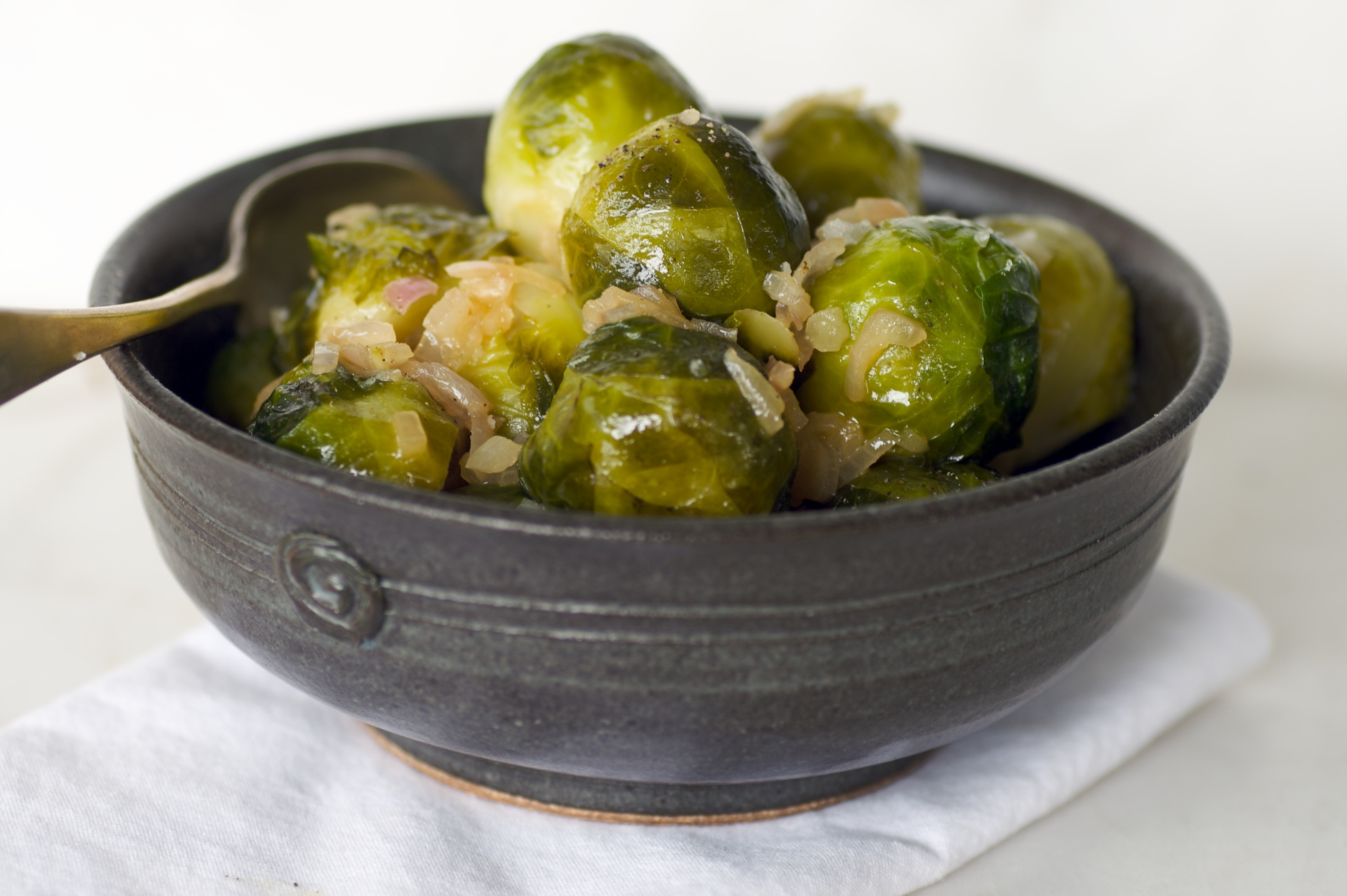 cooked Brussells sprouts