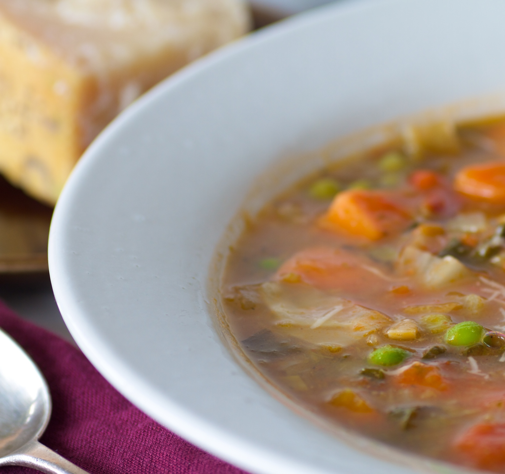 winter's vegetable soup