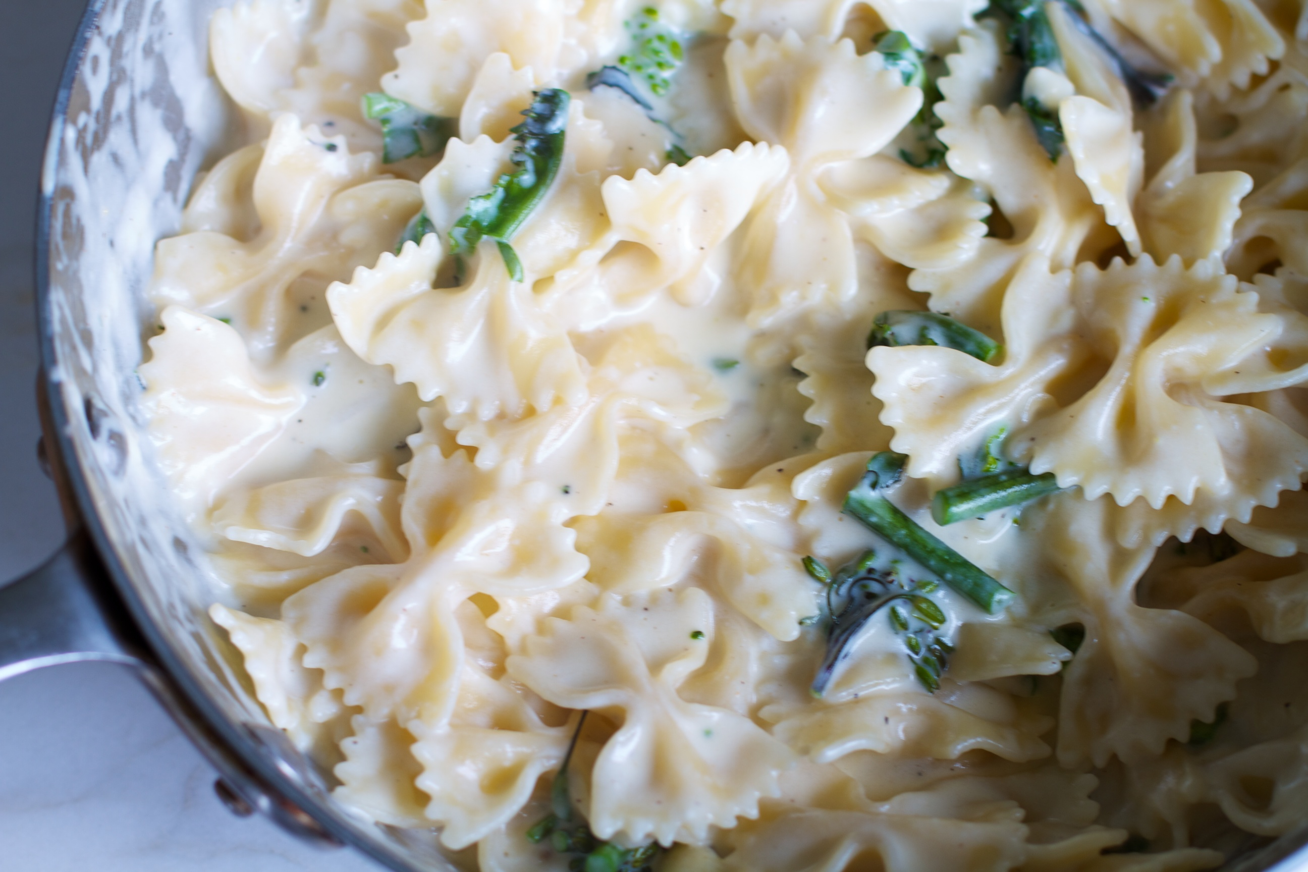 Bow tie pasta Mac & Cheese