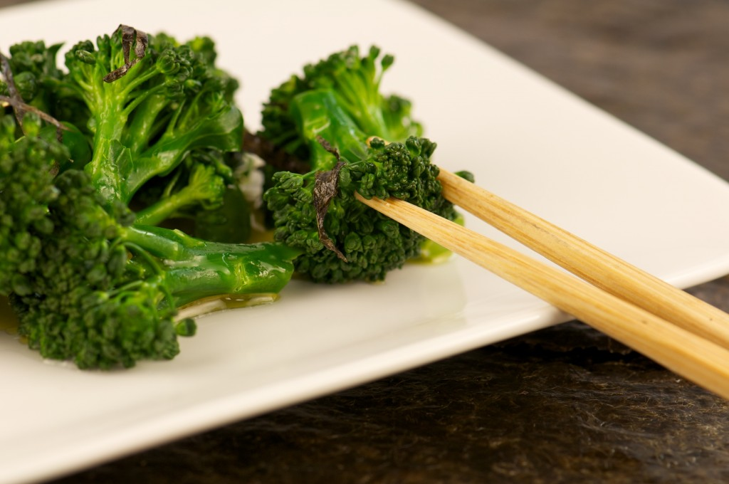 Broccoli with Nori Butter