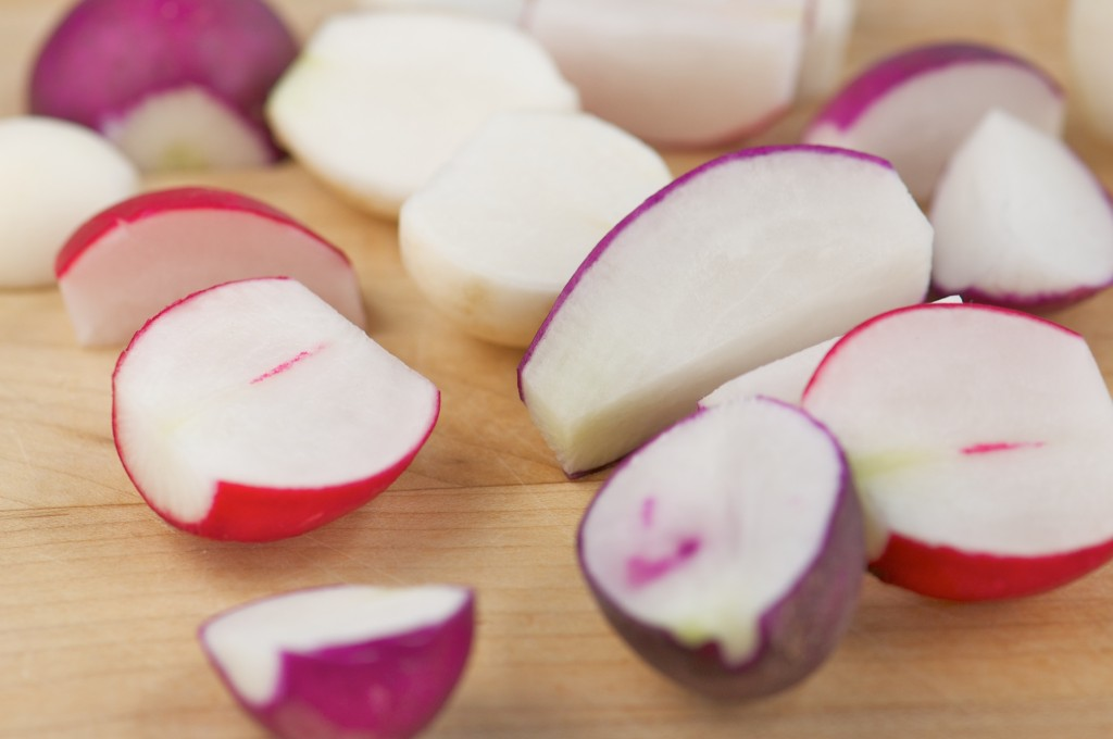 Chopped Radishes
