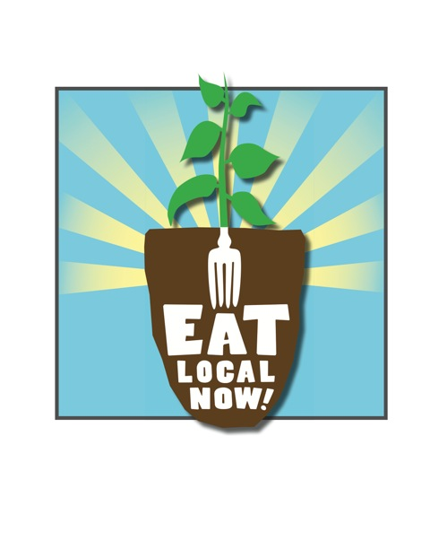 eat local now poster