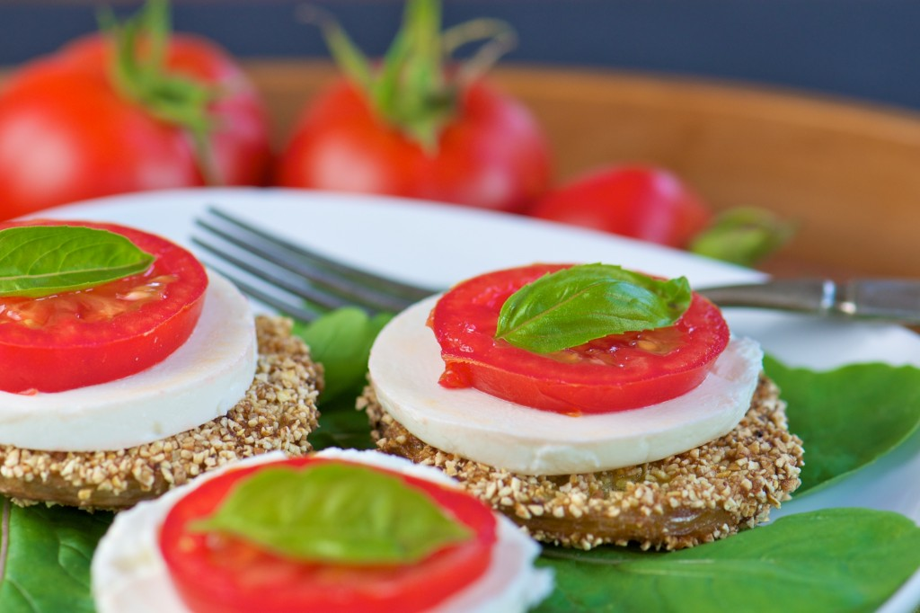 Tomato Goat Cheese Appetizer