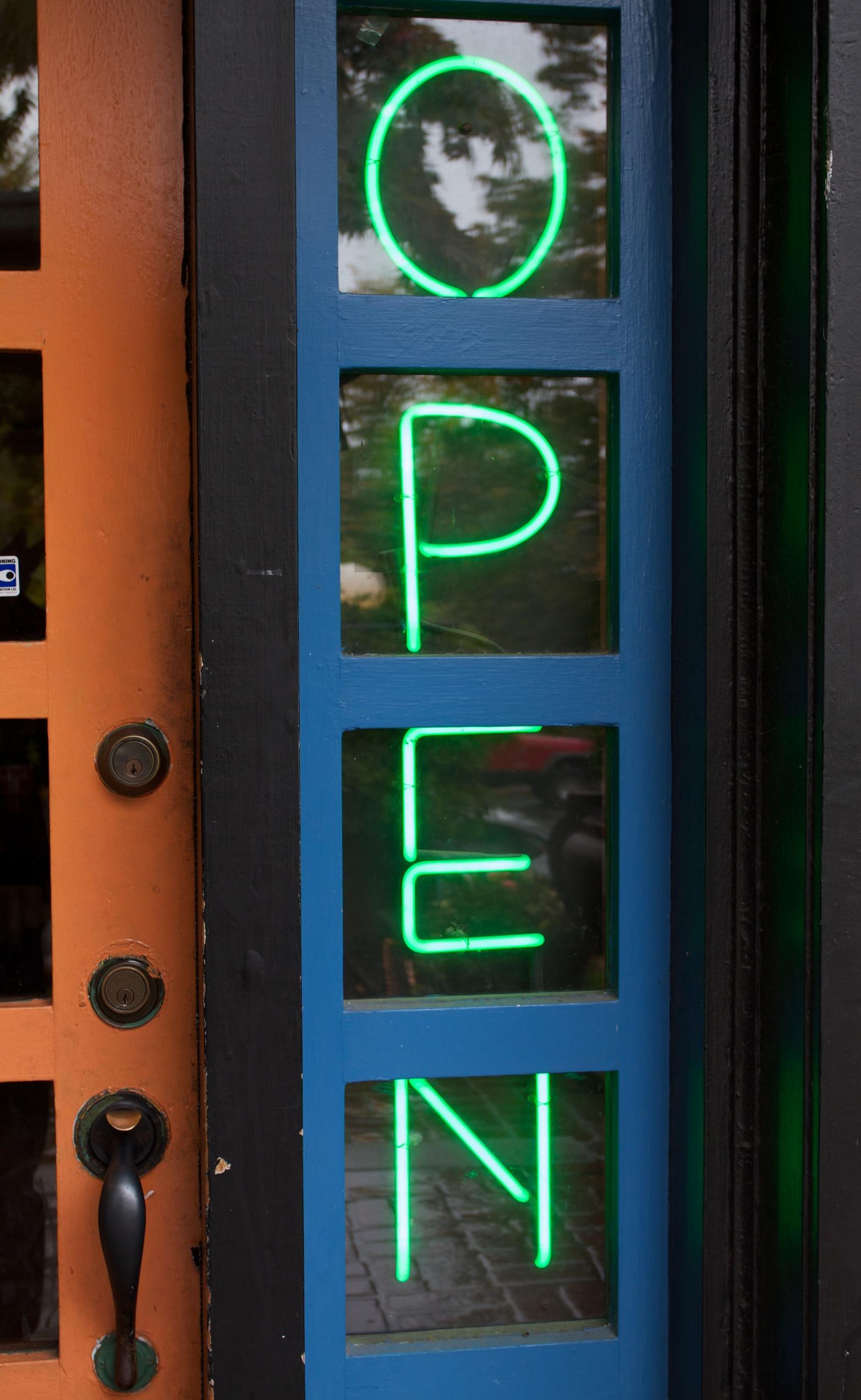 Open neon