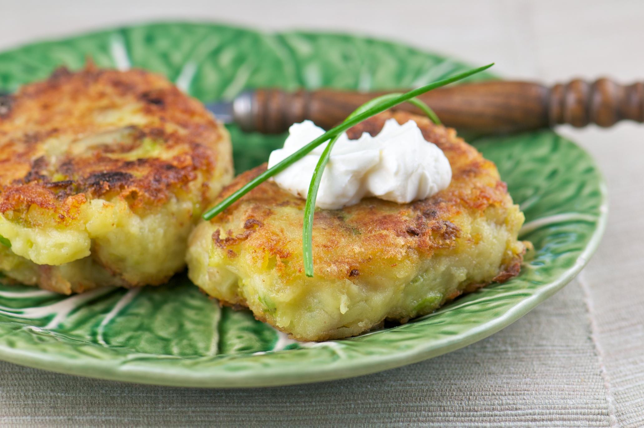 Bubble & Squeak Potato Cakes