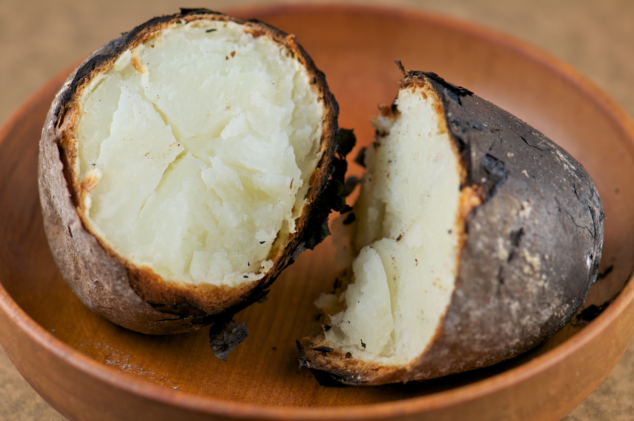 How to bake potatoes in foil