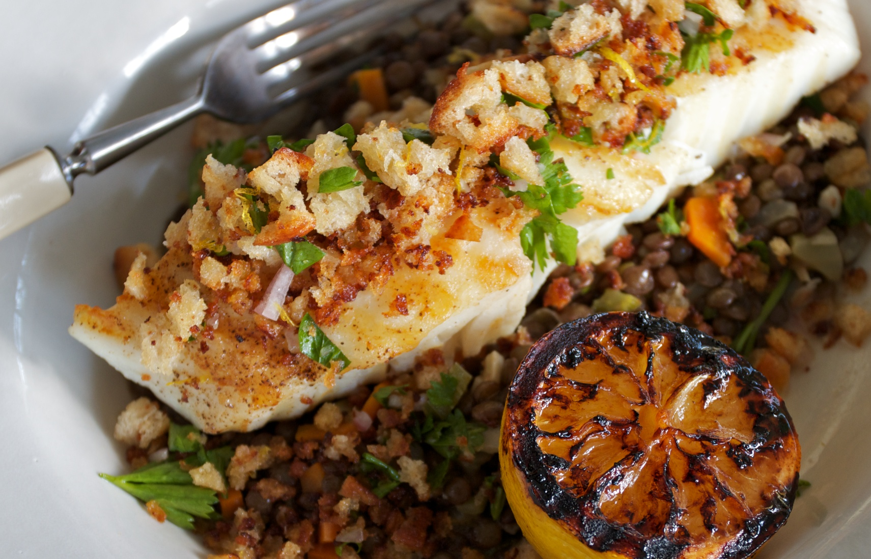 Just for the Halibut | Mixed Greens Blog Alaskan Halibut Dish