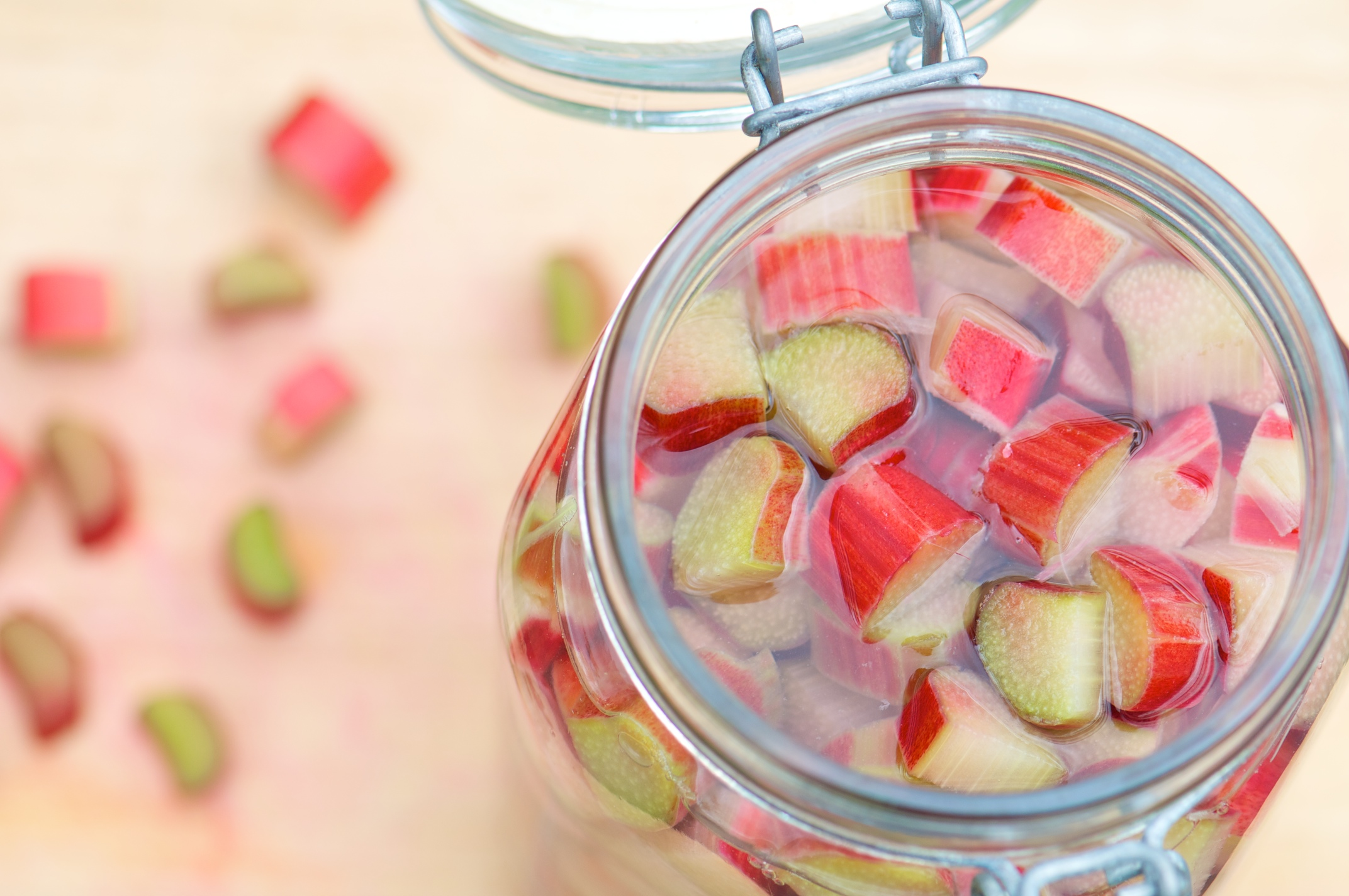 Rhubarb Cocktails Rule | Mixed Greens Blog