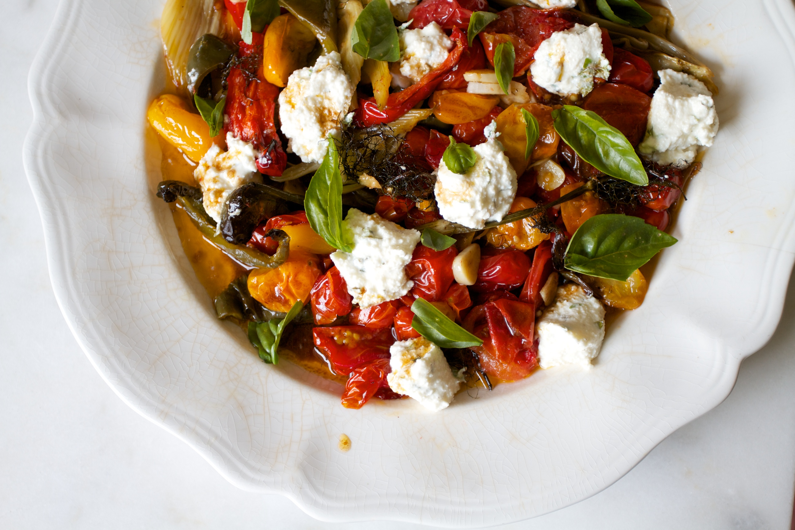 pasta roasted summer vegetable related to pasta with roasted roasted ...