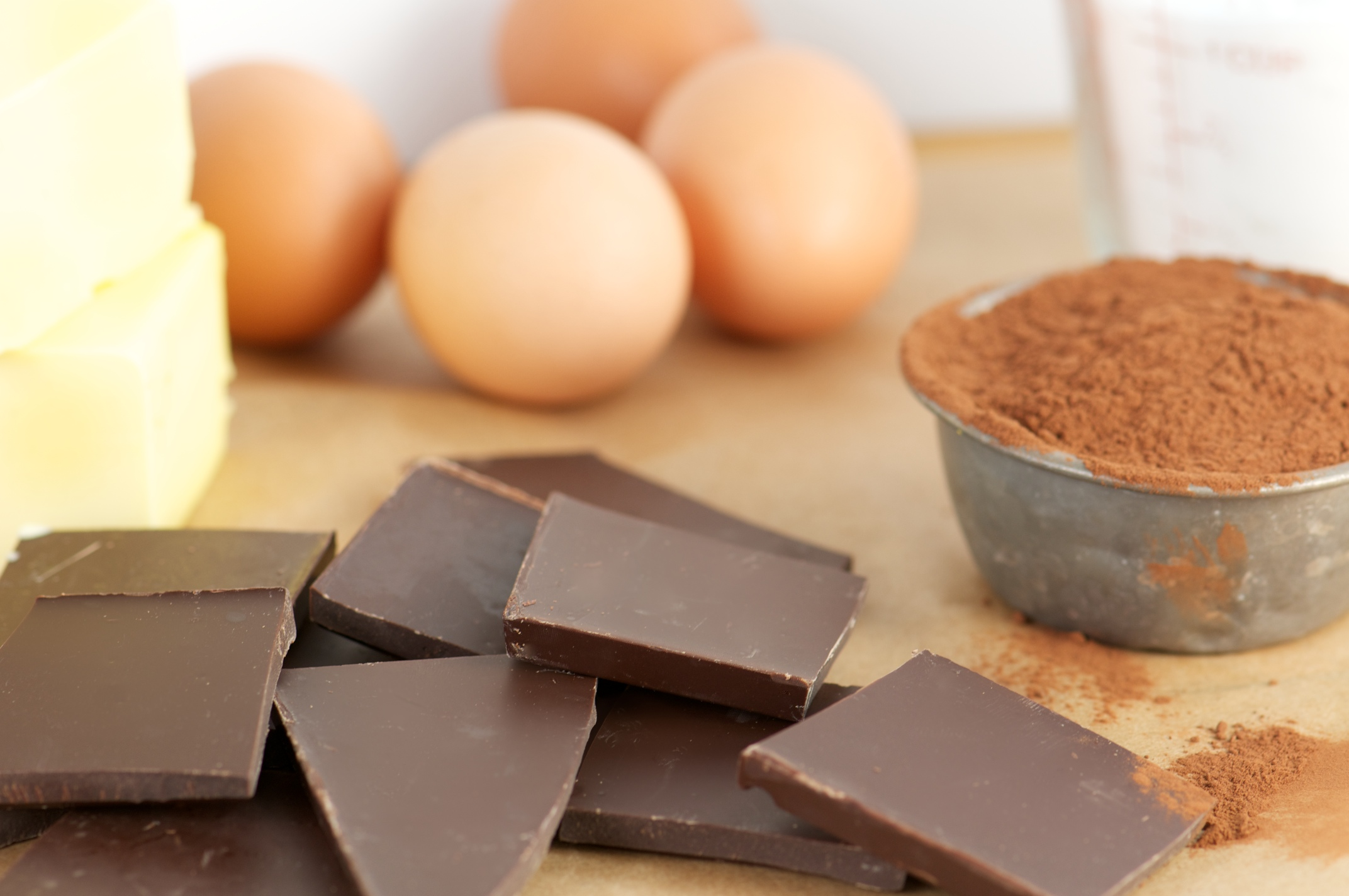 Ingredients Of Flourless Chocolate Cake