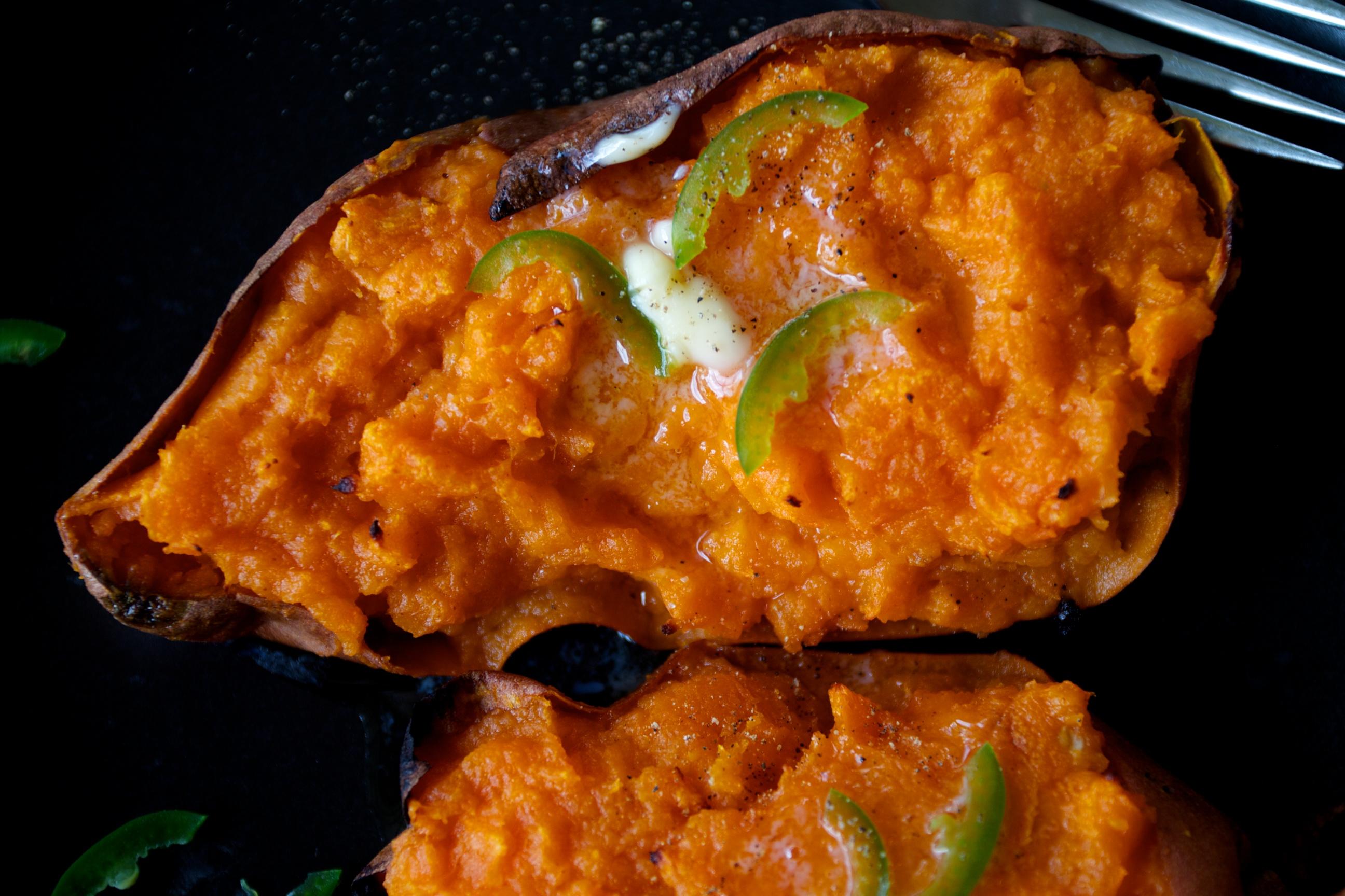 twice baked yams