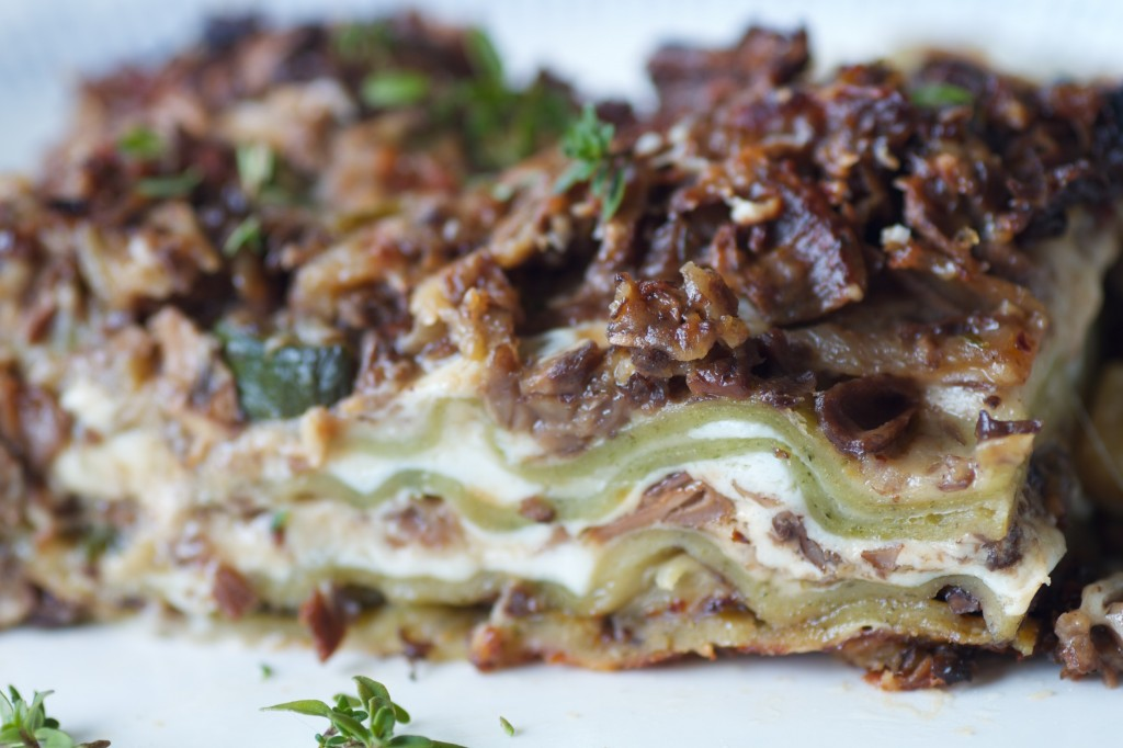 Mushroom Lasagna Recipes — Dishmaps