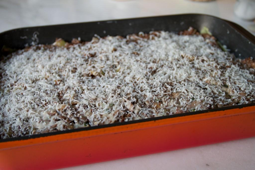 mushroom lasagna 1
