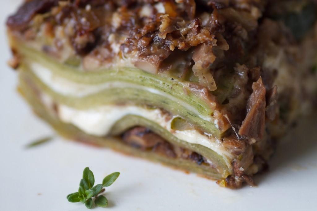mushroom lasagna 2