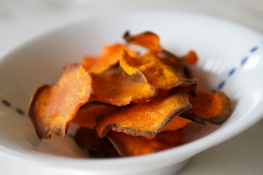 sweet potatoe chips