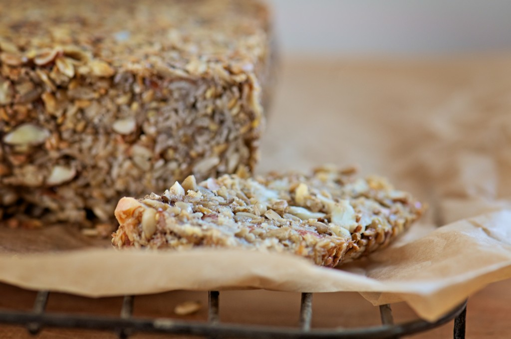 gluten-free seed bread