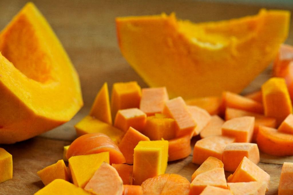 Orange Winter Vegetables