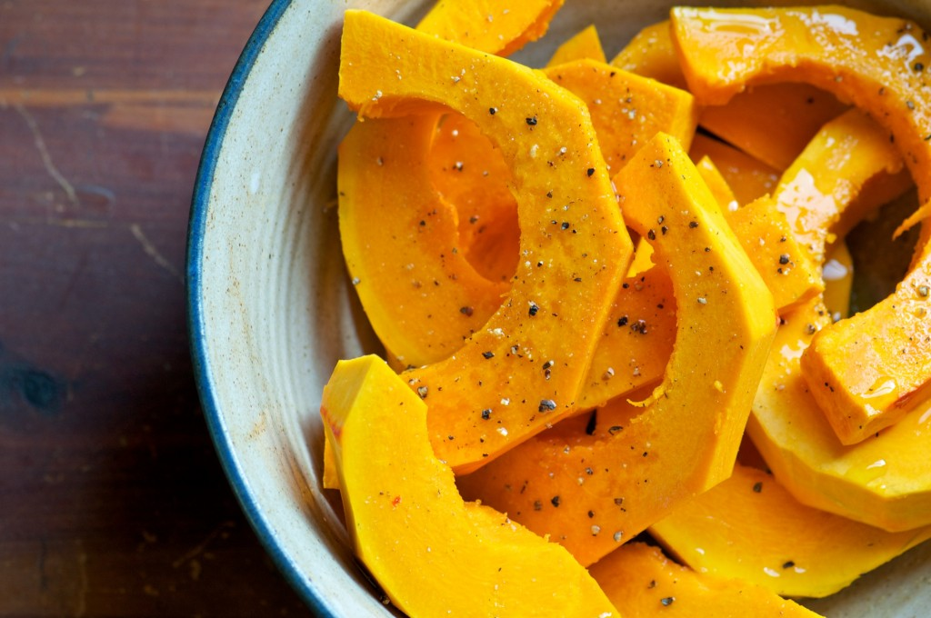 Sliced Winter Squash