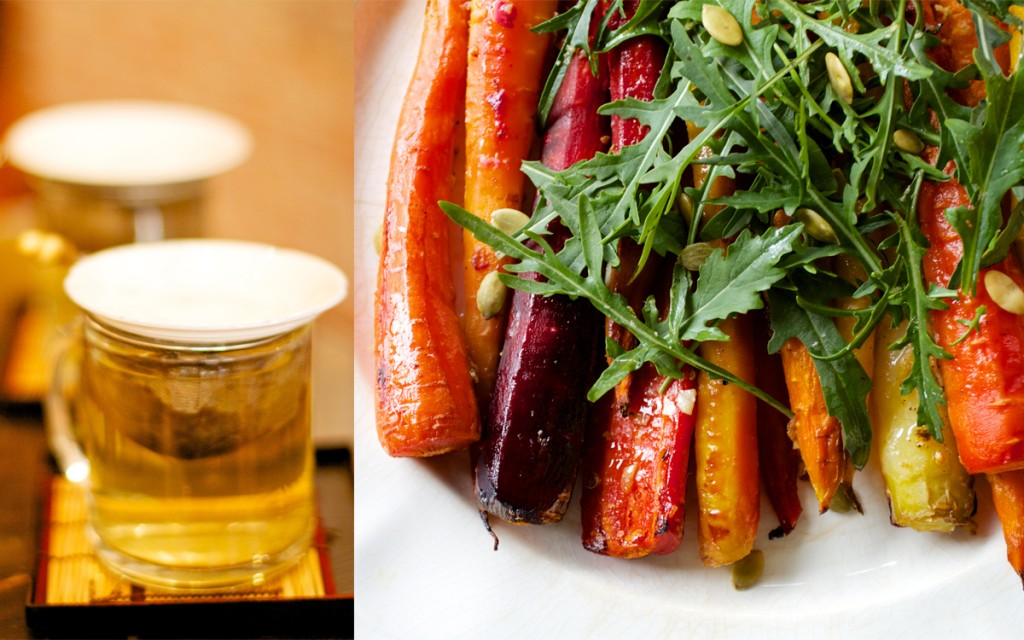 Roasted Carrots Diptych