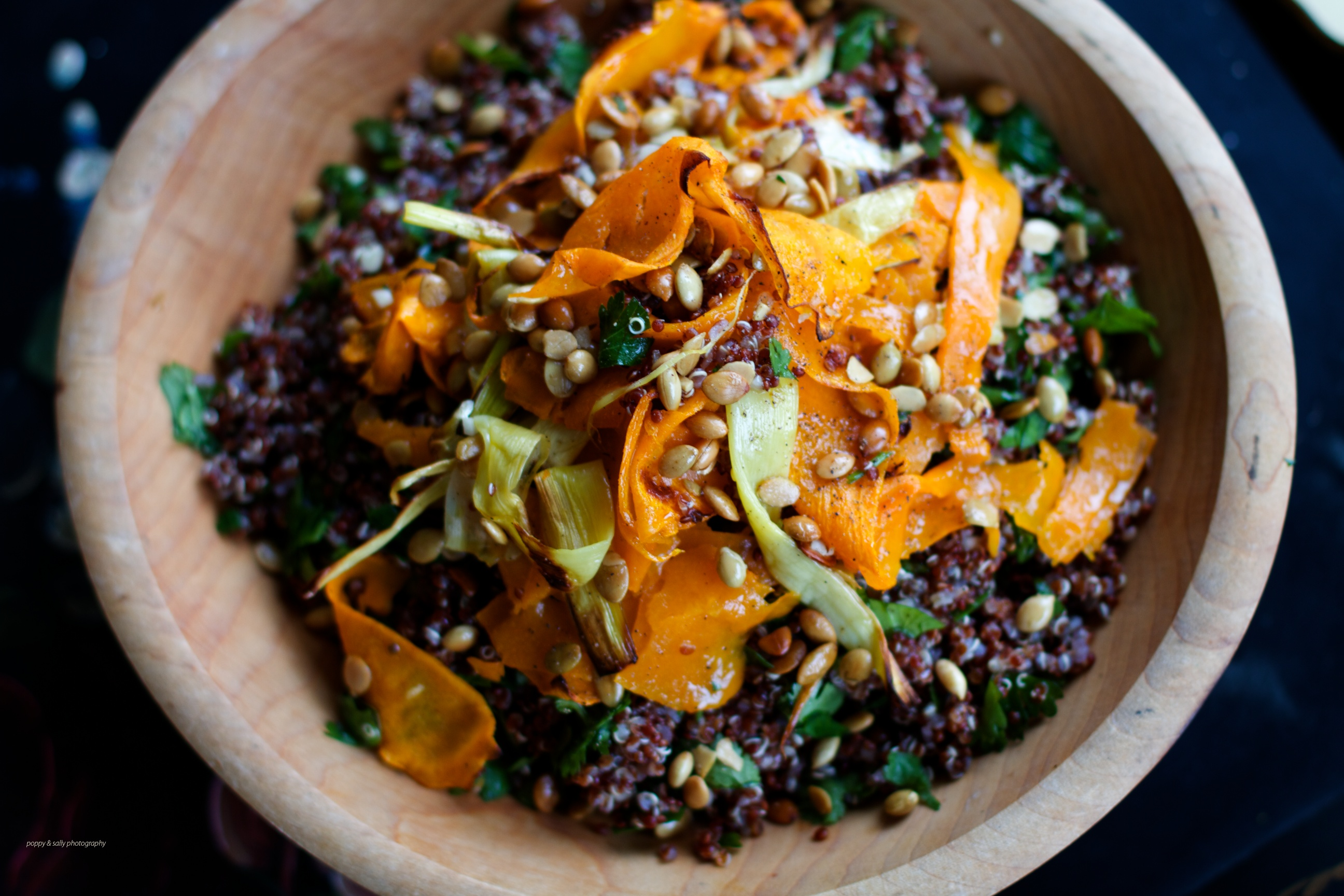 Quinoa, Robust Winter Salad | Mixed Greens Blog