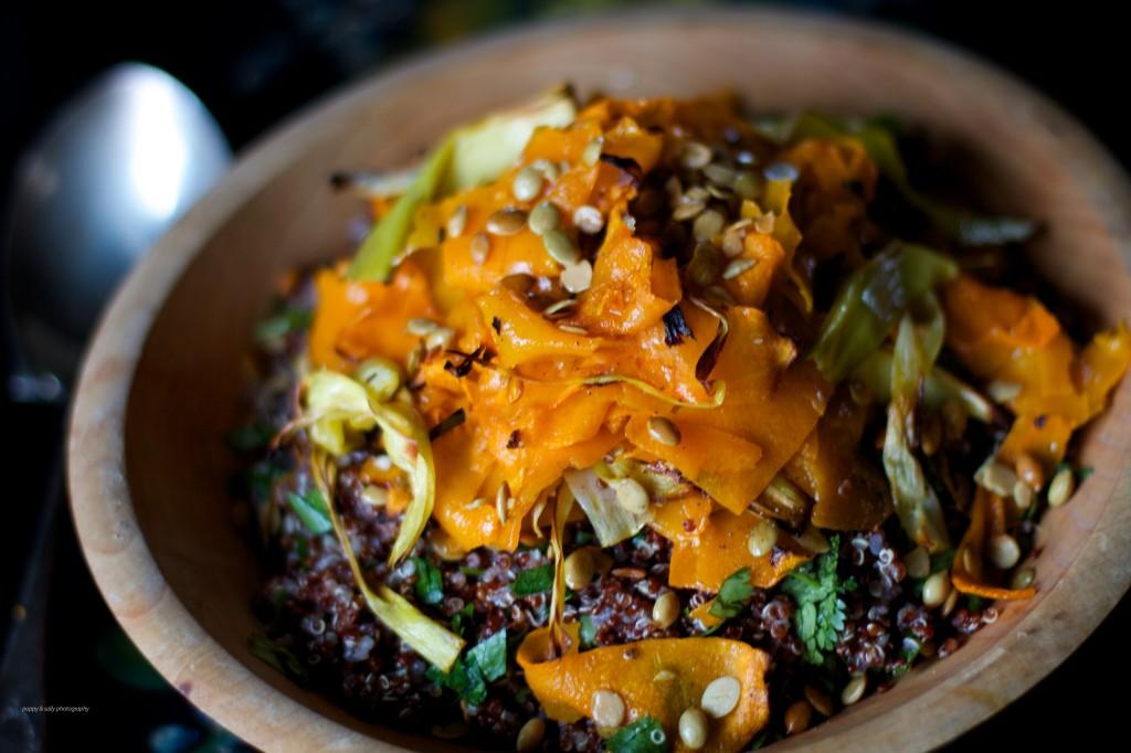 quinoa & squash salad 3