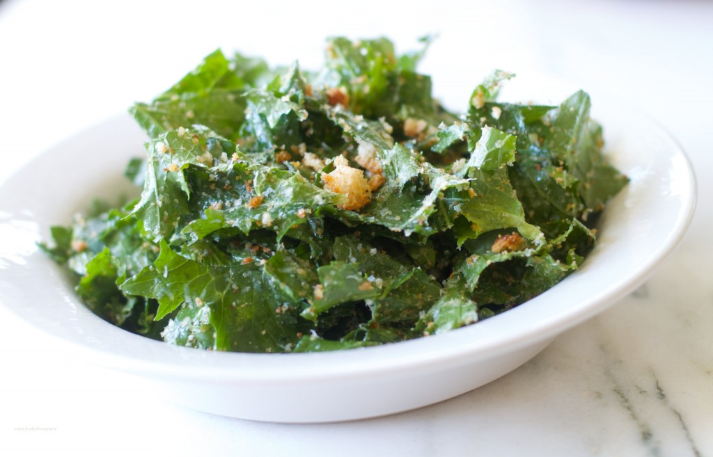 Kale Caesar! | Mixed Greens Blog